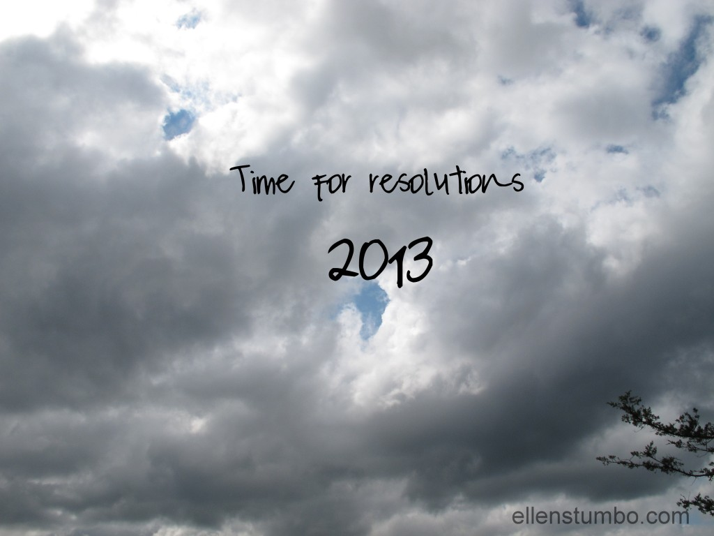 time for resolutions