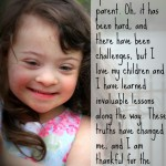 Ten reasons I love being a special needs parent