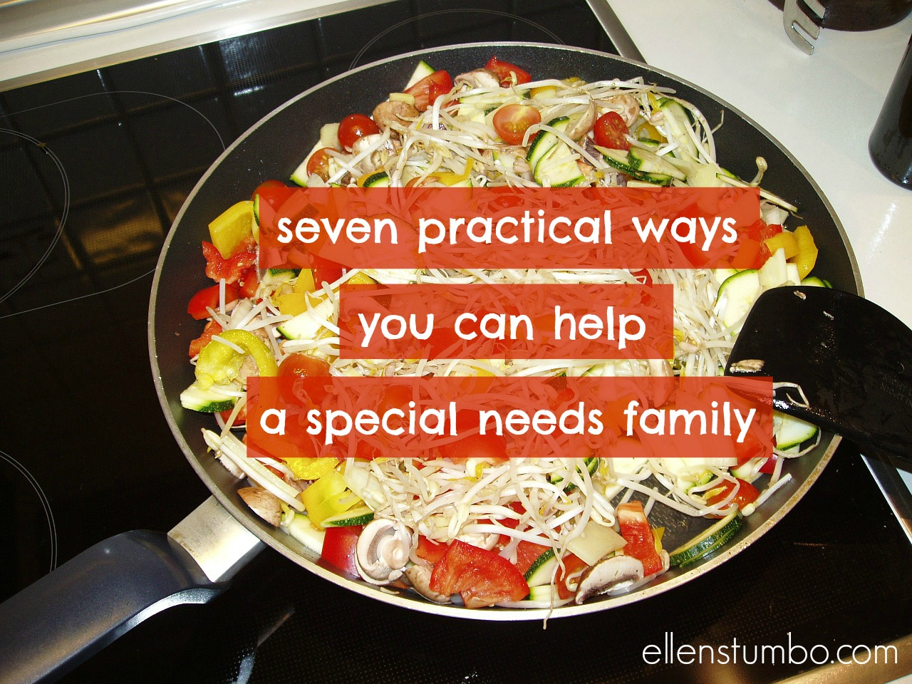 ways to help special needs families