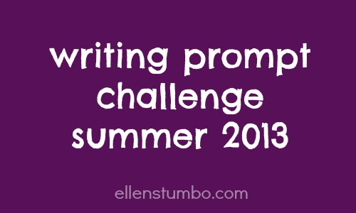 writing prompt summer challenge