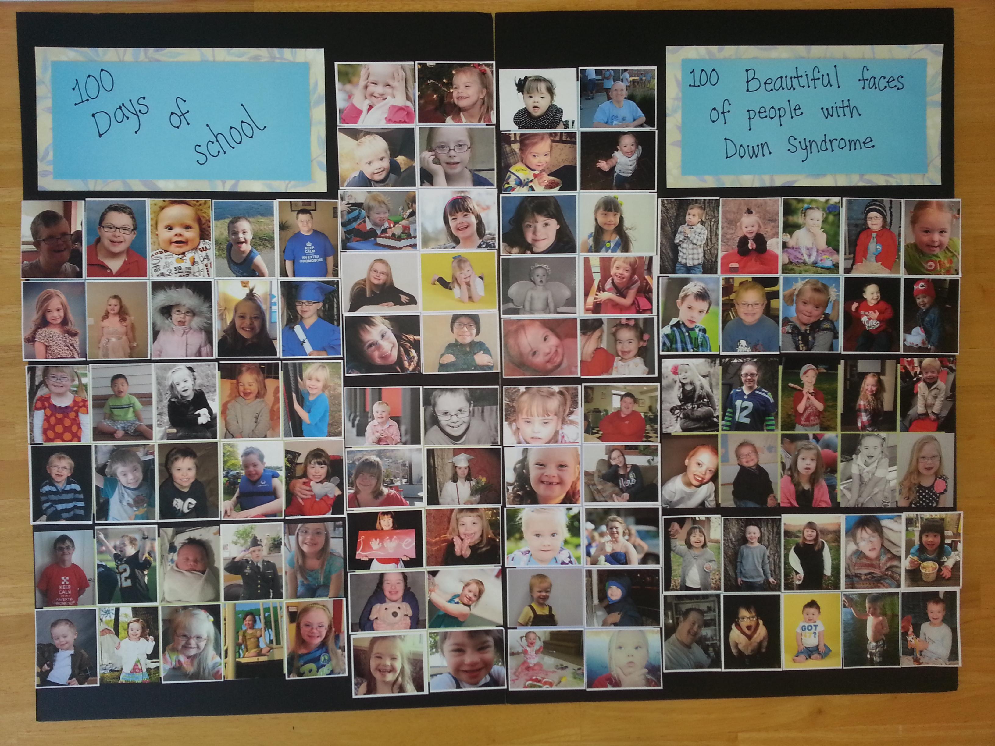 100 beautiful faces
