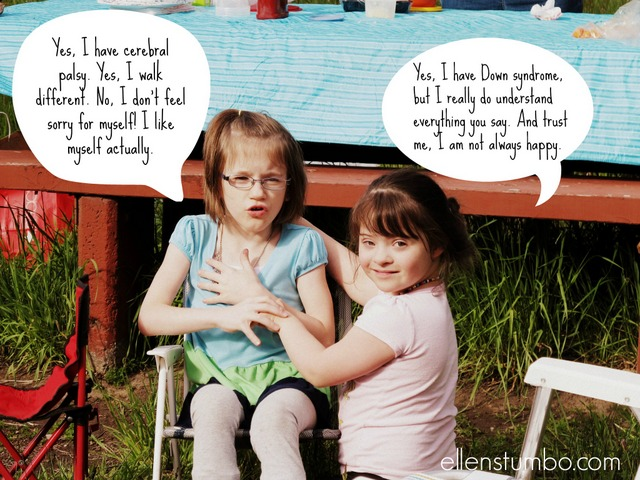 Confession of a Special Needs Parent: She's Just One of the Kids