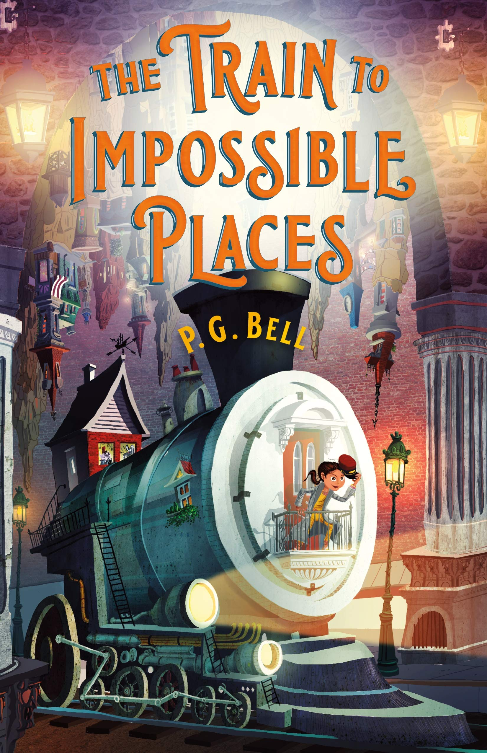 The Train to Impossible Places book cover